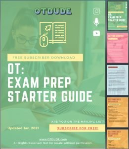 OTDUDE Exam Prep PDF Cover Pages