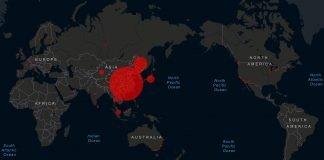 coronavirus world map 02102020