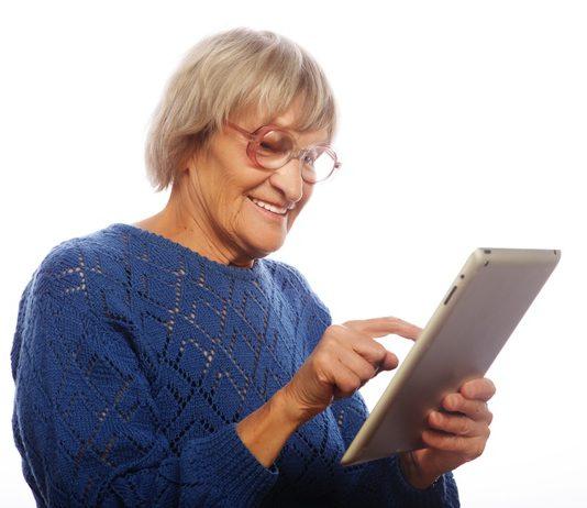 Older Adult Dementia IPad