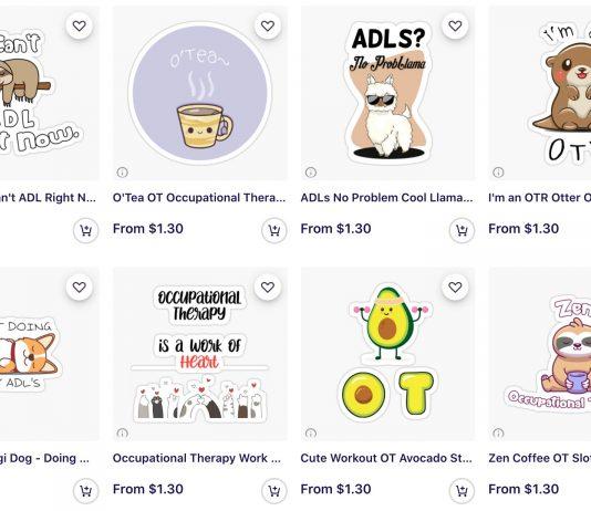 Occupational Therapy Stickers