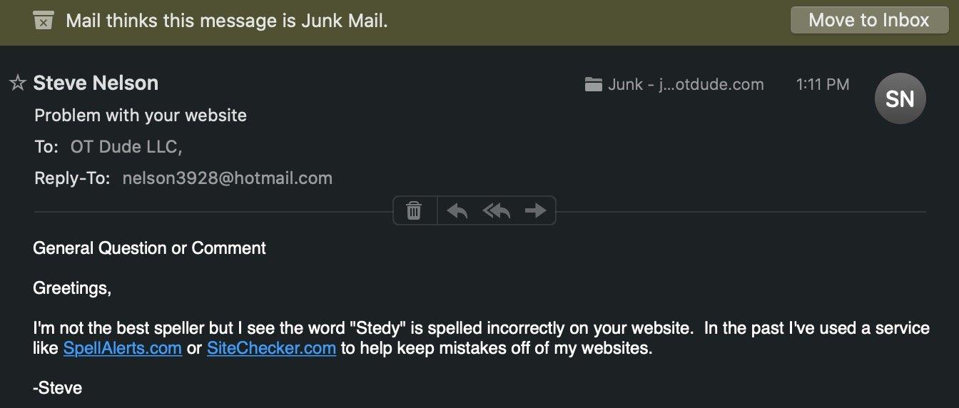 Sara Stedy Fail E-mail